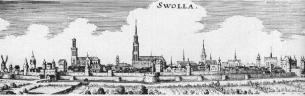 Zwolle látképe