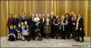 Nt. Kelemen Attila Csongor családja 2019 nov 3-án az urki templom csarnokában DSC07569